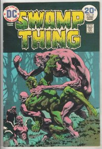 Swamp Thing #10 (Jun-74) VF/NM+ High-Grade Swamp Thing