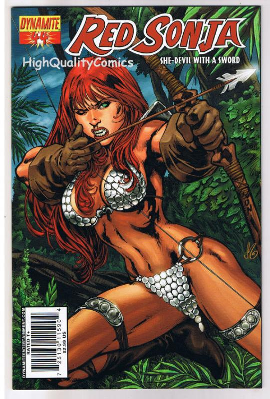 RED SONJA #44, VF+, She-Devil, Sword, Ron Adrian ,2005, more RS in store
