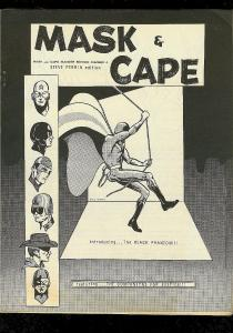 MASK & CAPE-COMIC FANZINE #4-ORIGINAL SUPER HEROES-1964 VG-
