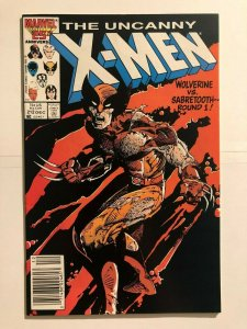 Uncanny X-Men 211 - 1st Wolverine vs. Sabertooth