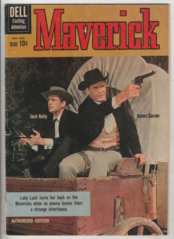 Maverick #13 (Nov-60) VF High-Grade Bret Maverick