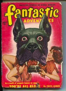 Fantastic Adventures-Pulp-7/1950-Robert Bloch-Fritz Leiber