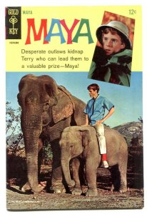 Maya #1 1967- Gold Key comics- Elephant cover VF