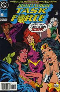 Justice League Task Force #7 VF/NM; DC   save on shipping - details inside