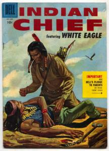 Indian Chief  #20 1955- Dell Western - FN-