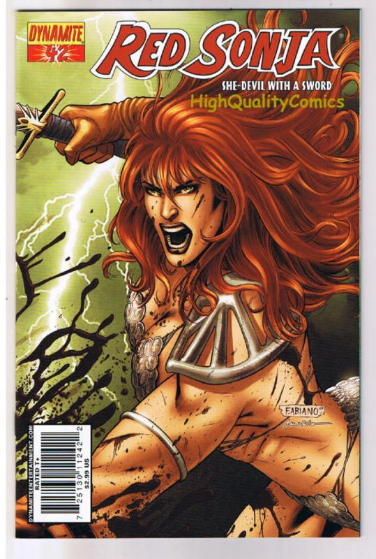 RED SONJA #42, NM-, She-Devil,Sword, Fabiano Neves,2005, more RS in store