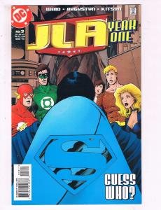 JLA Year One #3 VF DC Comic Book Waid Flash Black Canary DE10