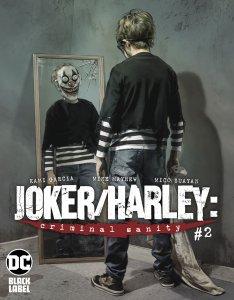 Joker Harley Criminal Sanity #2 Mayhew Variant Cvr (DC, 2020) NM