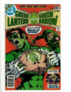 10 Green Lantern and Green Arrow DC Comics 110 111 112 113 114 115 116 + J461