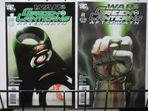 WAR OF THE GREEN LANTERNS AFTERMATH (2011) 1-2 COMPLETE