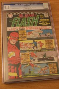 The Flash #160 (DC, 1966) CGC NM- 9.2 Off-white to white pages