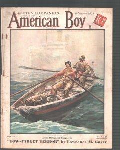 American Boy-2/1935-Anton Otto Fischer-R. M. Brinkerhoff-Pulp Fiction-/VG