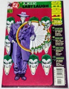 Joker Last Laugh: Secret Files #1 (VF/NM) 2001 DC Comics ID74H