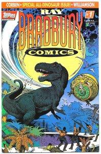 RAY BRADBURY COMICS #1(Feb1993) 9.0VF/NM • All DINOSAUR Issue! • 3 FreeCards