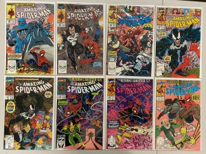 Amazing Spider-Man lot #329-350 1st Series 18 different books 8.0 VF (1990-'91)