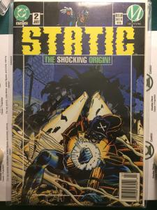 Static #2 The Shocking Origin!