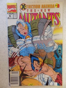 NEW MUTANTS # 97 LIEFELD HOT MOVIE
