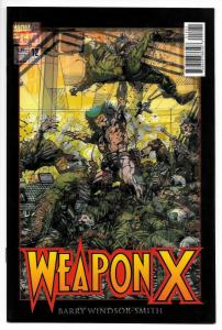 Weapon X #12 Barry Smith Wolverine Lenticular 3D Variant