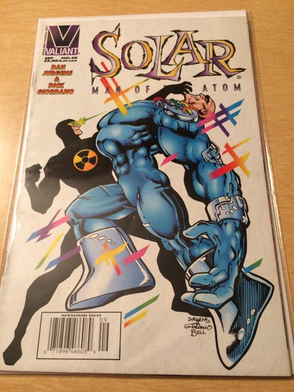 Solar: Man of the Atom #48