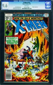 X-MEN #113 CGC GRADED 9.6 1978-Magneto  0272277008