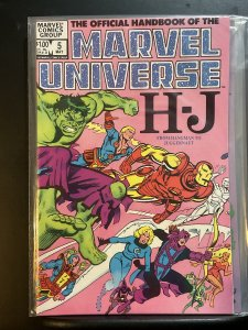 The Official Handbook of the Marvel Universe #5 (1983)