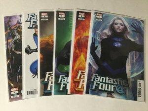 Fantastic Four 6 Issue 1 Variant Lot Nm Near Mint Marvel Comics