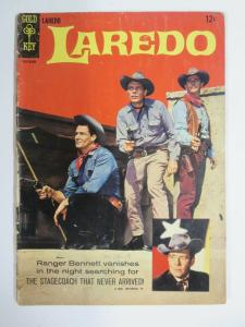 LAREDO (Gold Key, NN, 6/1966) (FAIR;FR)  Photo Cover!