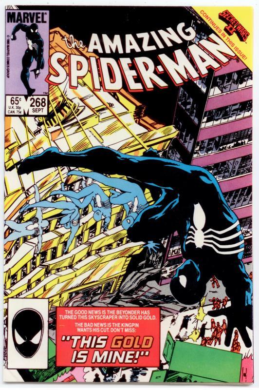 Amazing Spider-Man #268 VF/NM 9.0  Secret Wars II crossover