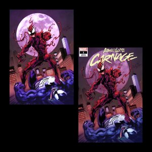 ABSOLUTE CARNAGE #1 MARK BAGLEY VIRGIN VARIANT SET NM  SONNYS COMICS
