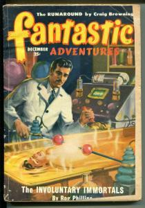 FANTASTIC ADVENTURES 1/1949-ZIFF-DAVIS-PULP SCI-FI-SWIATEK-PHILLIPS-BROWNING-fr
