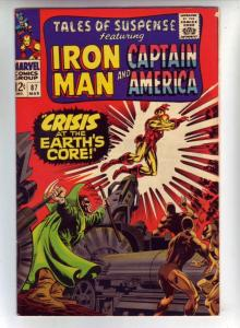 Tales of Suspense #87 (Mar-67) NM- High-Grade Iron Man, Captain America