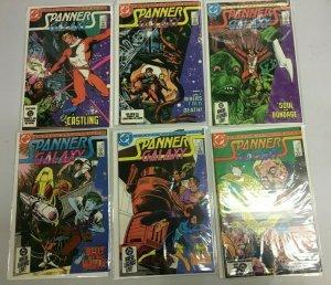 Spanner's Galaxy set;#1-6 NM (1984 DC)