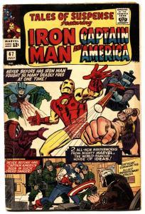 TALES OF SUSPENSE #67 1965-IRON MAN/CAPTAIN AMERICA-MARVEL-VG+