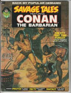 Savage Tales #2 (Oct-73) NM- High-Grade Conan the Barbarian