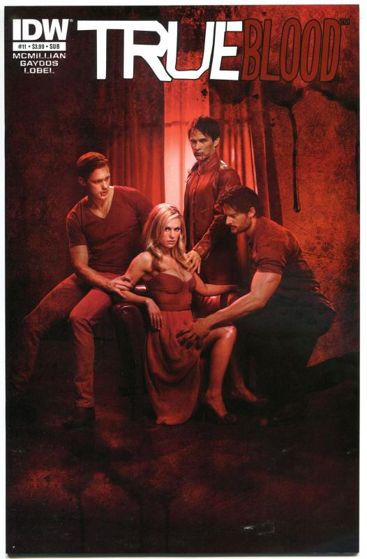 TRUE BLOOD #11, VF, 2012, Vampire, Eric, Sookie, Bill, Photo, more TB in store