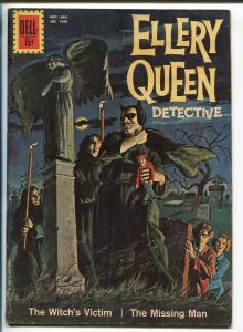 ELLERY QUEEN #1243 1962-DELL-FOUR COLOR COMICS-WEIRD MENACE-TERROR-vg