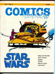 Comics Review #4 1984-Star Wars-Bloom County-Hagar-Steve Canyon-VF