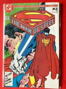 SUPERMAN THE MAN OF STEEL #5 1986 DC /  / HIGH QUALITY