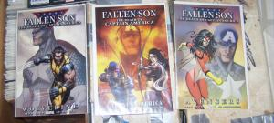 FALLEN SON - THE DEATH OF CAPTAIN AMERICA+AVENGERS+WOLVERINE HAWKEYE