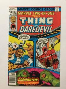 Marvel Two-In-One 38 Nm Near Mint