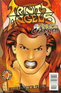 Trinity Angels #8 VF/NM; Acclaim   save on shipping - details inside