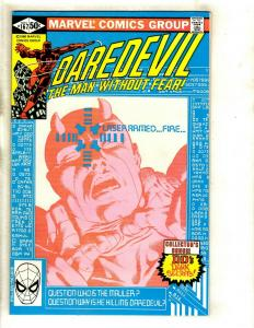 Daredevil # 167 NM Marvel Comic Book Foggy Karen Avengers Defenders Owl GK2