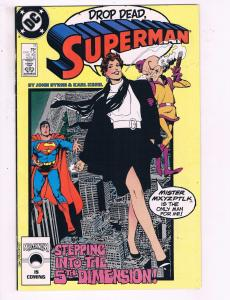 Superman #11 VF DC Comics Comic Book Byrne Kesel 1987 DE13