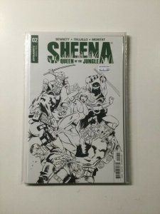 Sheena Queen of the Jungle 2 Variant Near Mint Dynamite HPA