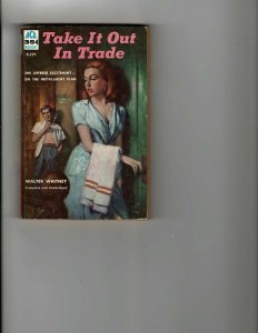 3 Books Take It Out In Trade Sin Street Miracle on 34th Street JK17