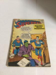 Superman 143 Gd Good 2.0 Bottom Staple Detached Tape On Spine DC Comics SA