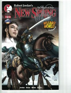 Robert Jordan's Wheel of Time: New Spring #X VF/NM signed wizard world exclusive