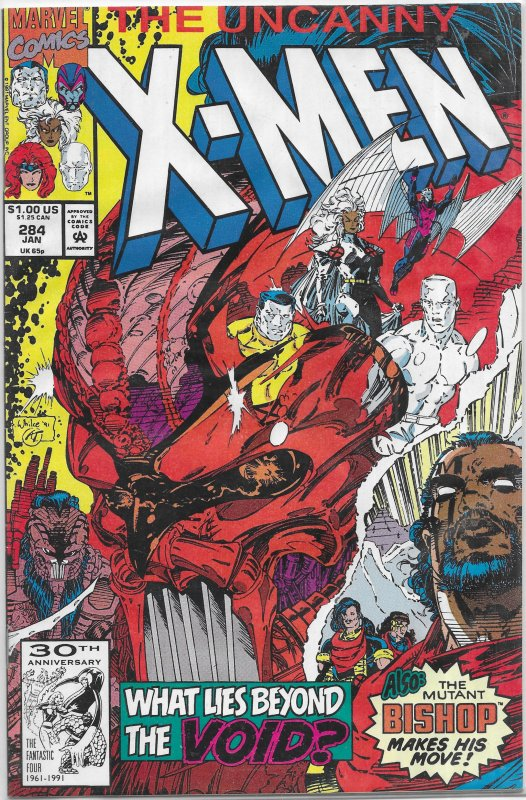 Uncanny X-Men   vol. 1   #284 FR/GD Byrne/Portacio, Bishop, Sunfire