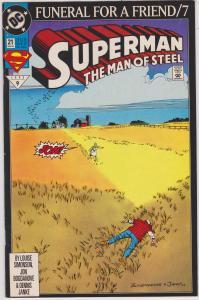 Superman: The Man of Steel #21