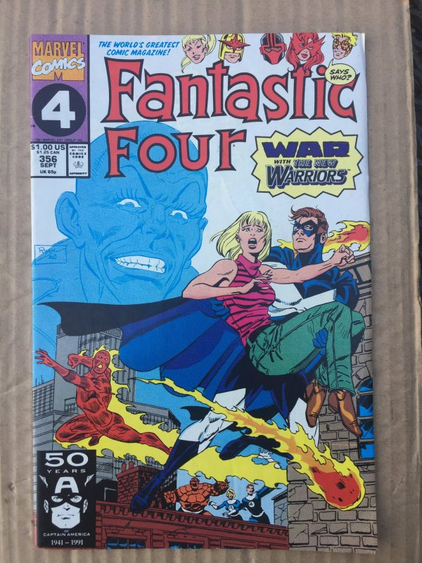 Fantastic Four #356 (1991)